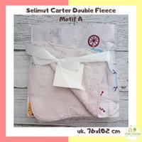 Selimut Carter Double Fleece Ukuran 100x75 cm - Selimut Bayi Bulu