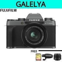 Fujifilm X-T200 kit XC 15-45mm f/3.5-5.6 OIS PZ - Dark Silver