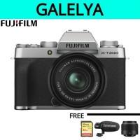 Fujifilm X-T200 kit XC 15-45mm f/3.5-5.6 OIS PZ - Silver
