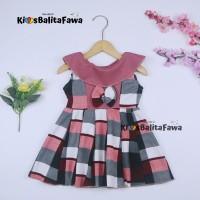 Dress Cantika uk Bayi 3-12 Bulan / Dres Murah Harian Baju Anak Cewek