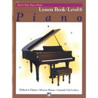 Alfred's Basic Piano Library: Lesson Book 6