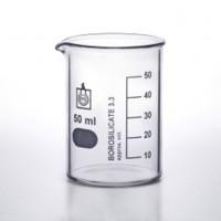 Beaker Glass 50ml-Mengukur Essential Oil Mikrobiologi Kimia