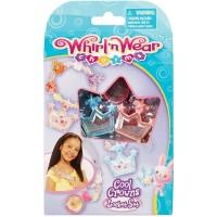 Whirl N Wear Cool Crowns Locket Set Mainan Anak Perempuan
