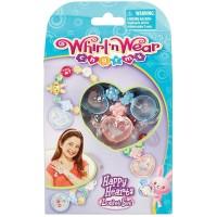 Whirl n Wear Happy Hearts Locket Set Mainan Anak Perempuan