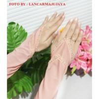Manset Wanita Hijab Manset Tangan Wanita Handshock Cincin Manset Renda