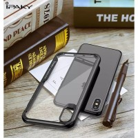 IPHONE X XS 5.8 IPAKY SHIELD HARD CASE BENING SOFT SILIKON