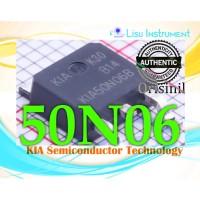 ORIGINAL 50N06 KIA50N06BD N Channel 60V 50A TO-252 DPAK KIA Semiconduc