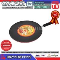 Gtv. SUPRA ROUND GRILLPAN Teflon Alat Panggang 30 Cm Tebal / GRIll PAN