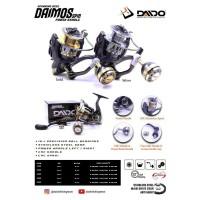 REEL DAIDO DAIMOS 2000 POWER HANDLE 13 BEARINGS JAPAN MATERIAL