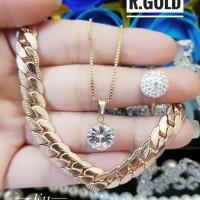 titanium set perhiasan m194
