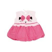 Dress Balon Bayi Kitty/Gaun Bayi/Baju Pesta Anak/Terusan Bayi