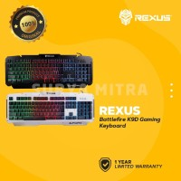 Keyboard Gaming Rexus K9D Rainbow Colour