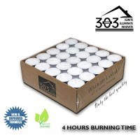 303 Home Imported Tealight Candles 100 pc Lilin Tealight aromaterapi