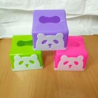 Kotak Tissue Panda   Tempat Tissue Panda Kotak   Tempat Tisu Segi