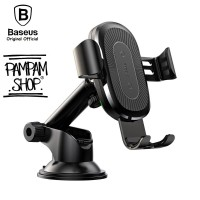 BASEUS Wireless Charger Gravity Mount Car Holder OSCULUM Mobile Phone