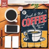Coffe quotes AA | hiasan | pajangan dinding | poster| kayu| wall decor