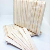 Stik kayu es krim besar - stik kayu kuat - stik kayu mainan anak