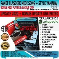 Paket fd Style & Song Midi Keyboard Yamaha Terupdate + Backup