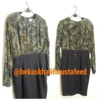 Baju 075 Casual Mini Dress Wanita Size M Preloved Bekas