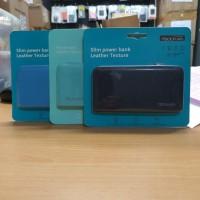 Powerbank Bcare Slim Leather 7800mAh Original