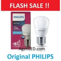 PHILIPS Lampu LED bohlam 3 watt 3w / Philip Putih 3 w Bulb LED 3watt
