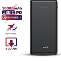 Powerbank Vivan VPB-K10 10000mAh 22.5W Quick Charge 3 Output Original