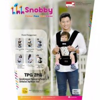 Snobby Gendongan Bayi Hipseat 6 Posisi Sirkulasi Aplikasi Star TPG2148