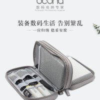 Travel Gadget Organizer Double Layer / Travel Pouch Gadget Powerbank