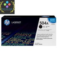 Toner HP 504a Black Laserjet [CE250A] - Hitam