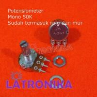 Potensiometer Mono 50K A-Plus Potensio 50 K APlus Variable Resistor