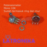 Potensiometer A-Plus 10K Mono Potensio APlus 10 K Variable Resistor