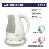 TEKO KETTLE LISTRIK HELES HL 6420 1.5 L PEMASAK AIR LISTRIK OTOMATIS