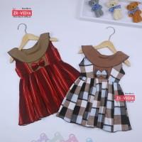Dress Cantika uk Bayi 3-12 Bulan / Dres Yukensi Murah Baju Anak Cewek - WARNA RANDOM