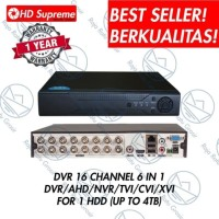 DVR 16CH RECORDER CCTV 1080p FULLL PLAYBACK 16 CHANNEL XMEYE