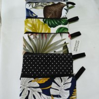 OBRAL MURAH !! souvenir dompet hape / pouch kosmetik kanvas
