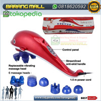 Alat pijat dolpin ALL NEW DOLPHIN MASSAGER 5 FUNGSI