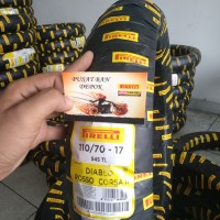 Ban Motor Pirelli Diablo Rosso Corsa 2 ukuran 110/70-17 soft compound