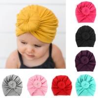 topi turban donat untuk bayi anak perempuan donut