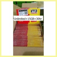 Grosir Indosat Unlimited 15Gb 30Hr