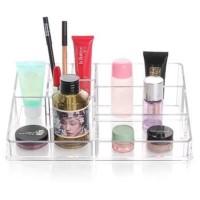 Tempat Makeup - Tempat Kosmetik - Rak Makeup - Rack Makeup - Acrylic