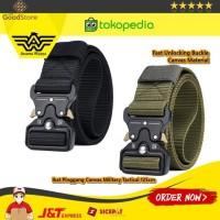 Rhodey Tali Ikat Pinggang Canvas Military Tactical 125cm - MU055