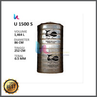 Tangki Air Paus Susun U 1500 S Tandon Toren Air Volume 1464 L