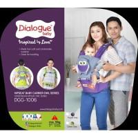 Dialogue Baby Gendongan Bayi Hipseat - Karakter Owl DGG 1006 DGG1006