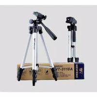 Tripod 1m + Holder U Universal Weifeng tripod hp kamera mirroless dslr
