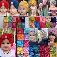 Turban anak bayi ciput bayi topi turban hijab baby jilbab anak