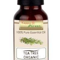 Happy Green ORGANIC Tea Tree Essential Oil 10 ml - Murni Tea Tree