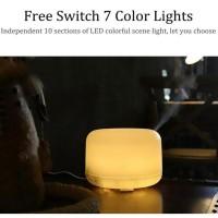 Taffware 4 in 1 Aroma Diffuser Humidifier Elektrik &7 LED - HUMI H770