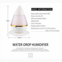 Taffware Mini Ultrasonic Air Humidifier Aroma Therapy - HUMI H121