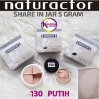 Terlaris ! Naturactor Foundation Share In Jar 5Gram