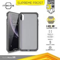 ITSKINS Shock Proof Case iPhone XR Supreme Frost - Grey Black